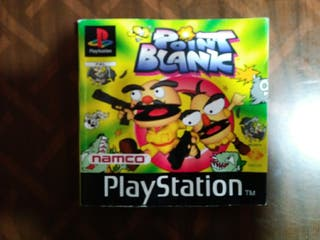 manual point blank psx ps1