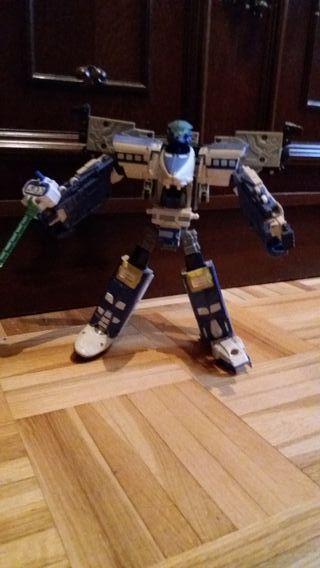 Transformers Rail Racer como nuevo
