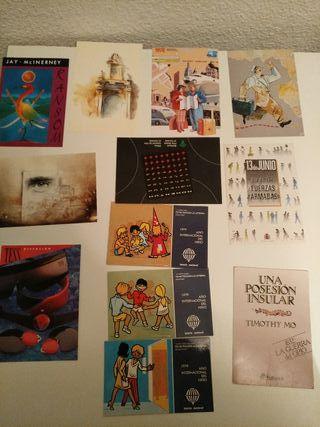 2 lotes postales de París y Publicitarias
