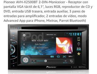 Pantalla Pioneer AVH2500BT