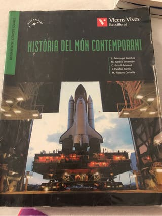 Llibre Historia primero bach