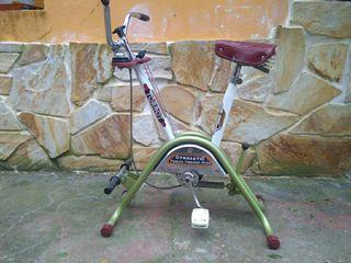 bicicleta estatica y remo vintage