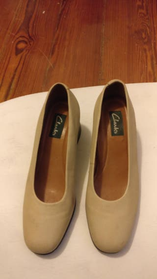 Zapatos Por Mano 38 Clarks 25 De Segunda U6Urq