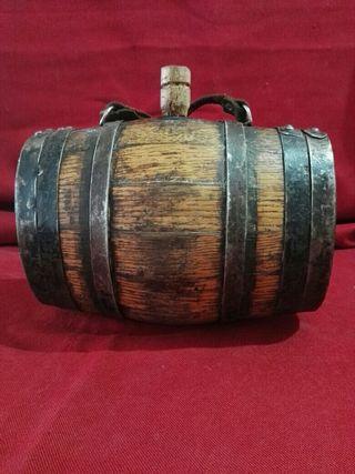 antiguo barril para pastores,