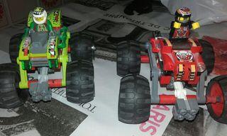 Pak de coches de lego