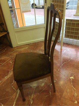 Sillas comedor vintage madera de segunda mano por 60 € en Catarroja ...