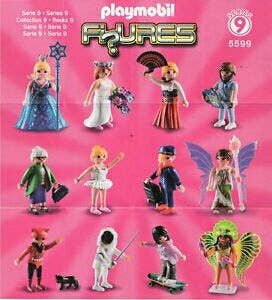Playmobil Serie 9 10 11 12 13 Chica