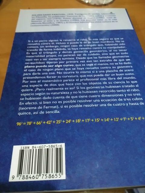 Libro La cuarta dimensión de segunda mano por 1 € en Madrid ...