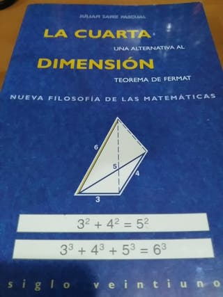 Libro La cuarta dimensión de segunda mano por 1,5 € en Madrid - wallapop