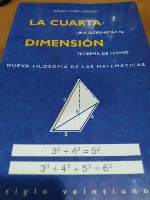 Libro La cuarta dimensión de segunda mano por 1 € en Madrid en WALLAPOP