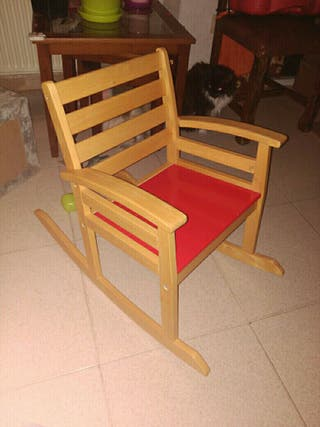 silla mecedora bebe niño