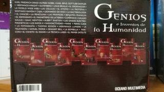 Colección genios e inventos de la humanidad