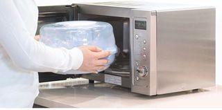 Estirilizador 6 biberones bebe microondas