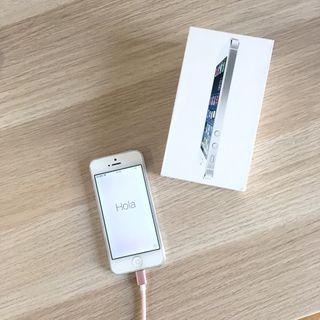 Iphone 5 libre solo 1 año de uso