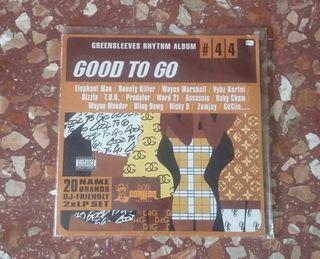 VINILO 2LP GOOD TO GO (GREENSLEEVES RHYTHM #44)...DANCEHALL, RIDIMS, REGGAE