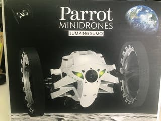 Drone jumping parrot