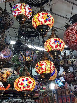 Lampara De Techo 5 Luces Estilo Arabe Marruecos