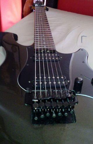 guitarra electrica 7 cuerdas