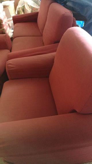 sofa cama+sillones