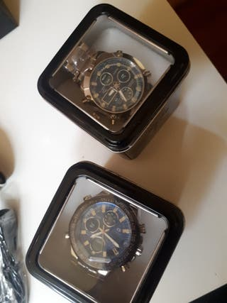 reloj marca cs collection