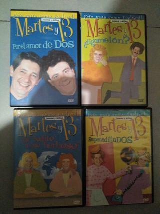 Lote de Peliculas de Dvd Martes y 13