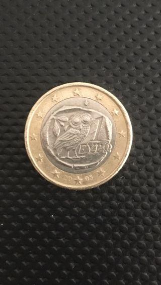 moneda buho griega euro