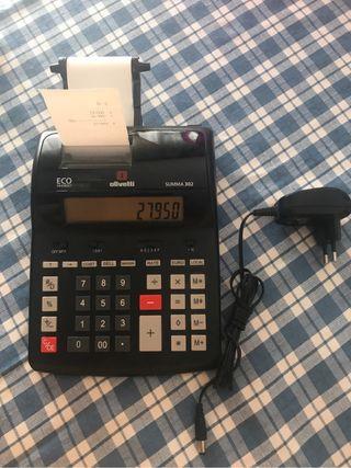 Calculadora Impresora Olivetti