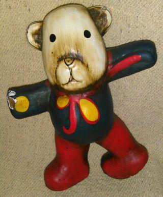 figura oso de cartón