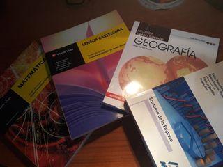 Libros acceso a grado superior
