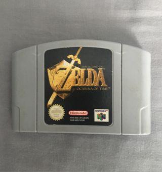 Juego n64 The Legend of Zelda