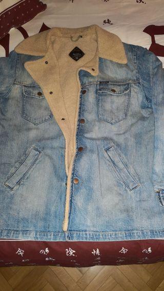Cazadora vaquera borrego pepe jeans