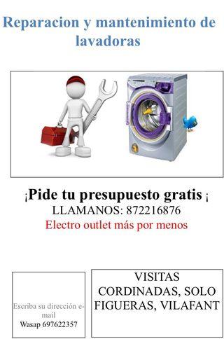 Reparación de lavadora y neveras