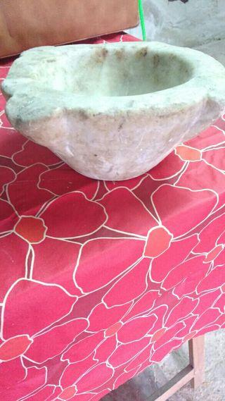 mortero de marmol
