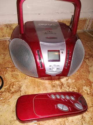 Radio caset digital