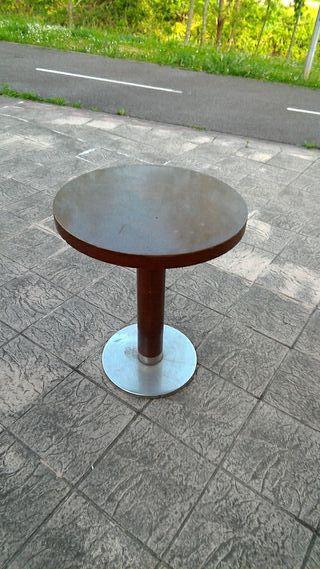 3mesas redondas macizas diametro 60 alto 75 cm