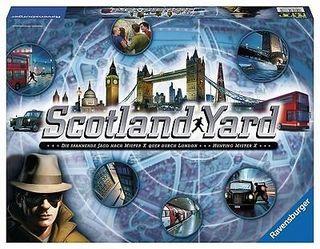 Scotland Yard. Juego de mesa.