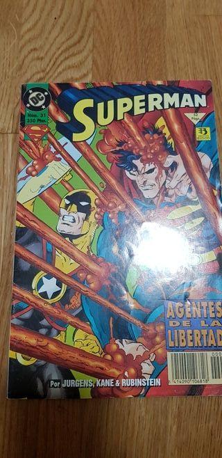 Cómic Superman años 90