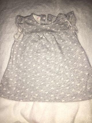 Vestido bebé Zara 1-3 meses