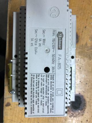 Transformador fuente de alimentación golmar FA-805