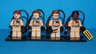 minifiguras tipo lego cazafantasmas Goshstbusters