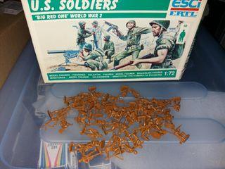 soldados 1/72 esci americanos