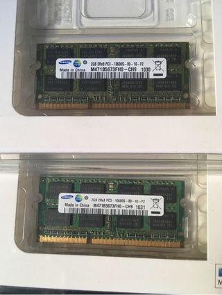 Memoria RAM Apple (2 de 2g)