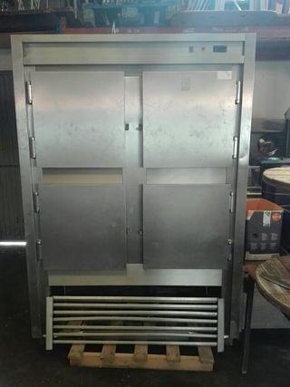 armario frigorifico inox