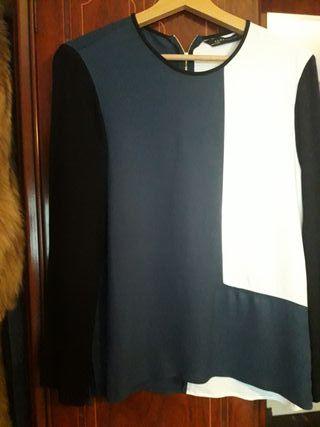 Blusa mujer vestir talla M
