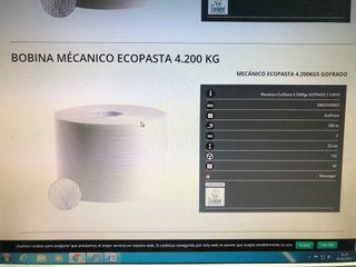 Papel Bobina Mecanico Ecopasta 4.200 kg