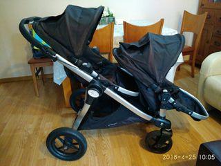 Carrito Baby Jogger City Select gemelar
