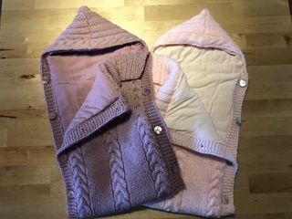 Sacos bebé de lana