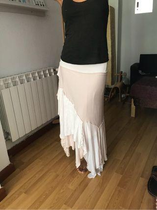 Falda Blanca Bohemian Chic