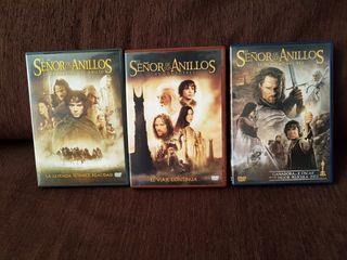 """Películas """"El Señor de los Anillos"""". Trilogía. DVD"""