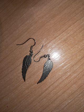 pendientes de alas